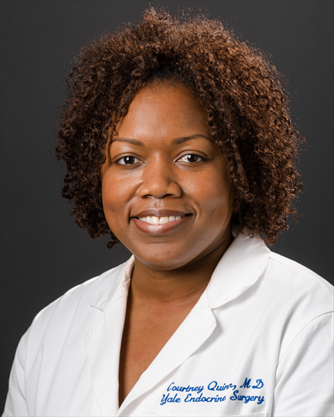 Author Courtney Gibson, MD, MS, FACS
